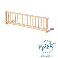 Securite Bebe Barriere de lit vernis naturel