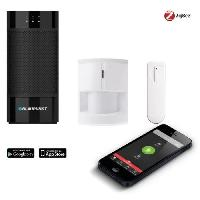 Securite Maison BLAUPUNKT Kit Alarme Smart Home Q 3000 - Blanx