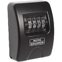 Securite Maison BURG-WÄCHTER Coffre-fort a clés 10 SB Noir