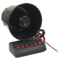 Securite Maison Sirene 6 Tons Differents 24V avec Connecteur - ADNAuto