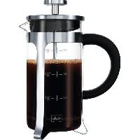 Service A Cafe - Service A The Cafetiere a piston Premium en verre et inox 8 tasses