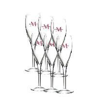 Service De Table Carton de 6 flûtes Dream Ch Montaudon