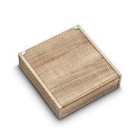 Service De Table Coffret en bois pour menagere 48 pieces ceruse vide