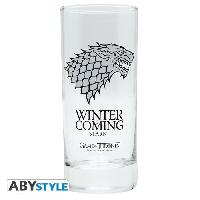 Service De Table Verre Game Of Thrones - Stark - ABYstyle