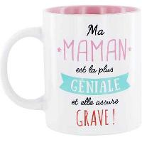 Service Petit Dejeuner 6x Mugs assortis Famille Fantastique