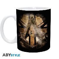 Service Petit Dejeuner ABYSTYLE Mug Assassin'S Creed- L'Union Jack