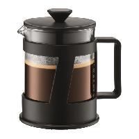 Service Petit Dejeuner BODUM CREMA Cafetiere a piston capacite 4 tasses 0.5L noir