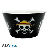Service Petit Dejeuner Bol One Piece - Skull - 460 ml - ABYstyle