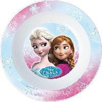 Service Petit Dejeuner Fun House Disney Reine des Neiges bol micro-ondable pour enfant