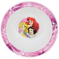 Service Petit Dejeuner Fun House Disney princesses bol micro-ondalbe pour enfant