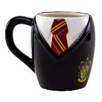 Service Petit Dejeuner Mug 3D Harry Potter : Uniforme Gryffondor