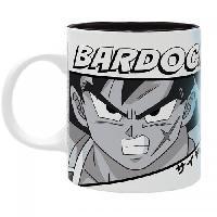 Service Petit Dejeuner Mug Dragon Ball Broly - 320 ml - Bardock - subli - boite - ABYstyle