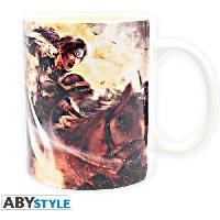 Service Petit Dejeuner Mug Dynasty Warriors - Dynasty Warriors8 - Abystyle