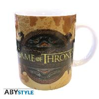 Service Petit Dejeuner Mug Games Of Thrones - 320 ml - Opening logo - porcelaine avec boîte - ABYstyle