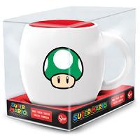 Service Petit Dejeuner Mug Globe - STOR - Super Mario Bros - En Ceramique