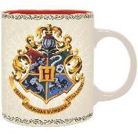 Service Petit Dejeuner Mug Harry Potter - 320 ml - Poudlard 4 maisons - boite - ABYstyle