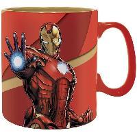 Service Petit Dejeuner Mug Marvel - 460 ml - IM Armored - boite - ABYstyle