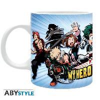 Service Petit Dejeuner Mug My Hero Academia - 320 ml - Heroes - subli - avec boite - ABYstyle
