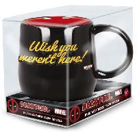 Service Petit Dejeuner Mug Nova - STOR - Deadpool - En Ceramique