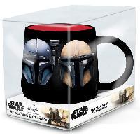 Service Petit Dejeuner Mug Nova - STOR - Star Wars - The Mandalorian - Mando - En Ceramique