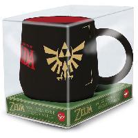 Service Petit Dejeuner Mug Nova - STOR - The Legend of Zelda - Triforce - En Ceramique