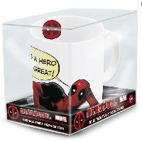 Service Petit Dejeuner Mug Offset - STOR - Deadpool - En Ceramique