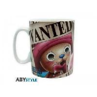 Service Petit Dejeuner Mug One Piece - 460 ml - Chopper Wanted - porcelaine avec boite - ABYstyle