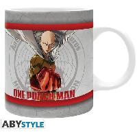 Service Petit Dejeuner Mug One Punch Man - 320 ml - Heros - subli - avec boite - ABYstyle