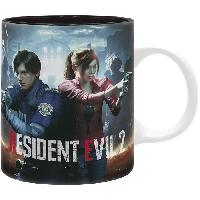 Service Petit Dejeuner Mug Resident Evil - 320 ml - RE 2 Remastered - subli - avec boite - ABYstyle