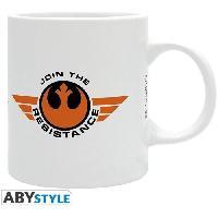 Service Petit Dejeuner Mug Star Wars - 320 ml - BB-8 Resistance - boite - ABYstyle