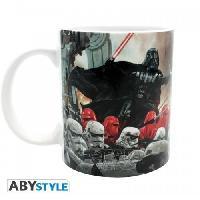 Service Petit Dejeuner Mug Star Wars - 320 ml - Bataille Empire - subli - avec boite - ABYstyle