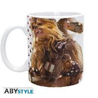 Service Petit Dejeuner Mug Star Wars - 320 ml - Chewbacca Ep7 - subli - avec boite - ABYstyle