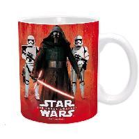 Service Petit Dejeuner Mug Star Wars - 320 ml - Kylo Ren et Troopers - avec boite - ABYstyle