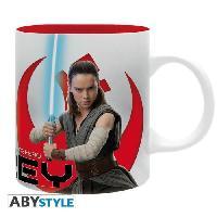 Service Petit Dejeuner Mug Star Wars - 320 ml - Rey E8 - subli - avec boite - ABYstyle