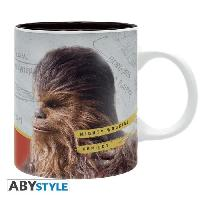 Service Petit Dejeuner Mug Star Wars - 320 ml - Solo Chewie - subli - avec boite - ABYstyle