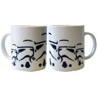 Service Petit Dejeuner Mug Star Wars - 320 ml - Stormtrooper army - avec boite - ABYstyle