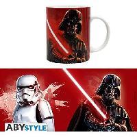 Service Petit Dejeuner Mug Star Wars - 320 ml - Trooper et Vader - avec boite - ABYstyle