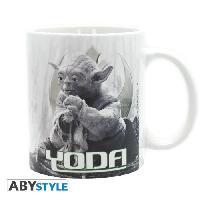 Service Petit Dejeuner Mug Star Wars - 320 ml - Yoda Dagobah - subli - avec boite - ABYstyle