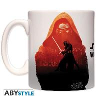 Service Petit Dejeuner Mug Star Wars - 460 ml - Kylo Ren et Phasma - avec boite - ABYstyle