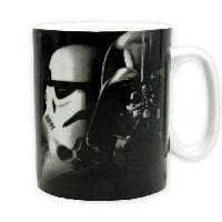 Service Petit Dejeuner Mug Star Wars - Mug - 460 ml - Vador  / Troopers - avec boite - ABYstyle