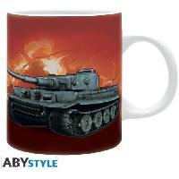 Service Petit Dejeuner Mug World Of Tanks- Croquis Tank