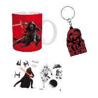 Service Petit Dejeuner Pack Mug + Porte-clés + Sticker Star Wars - Kylo Ren - ABYstyle