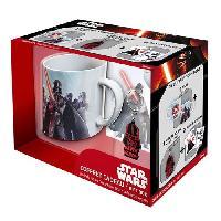 Service Petit Dejeuner Pack Mug + Porte-clés + Sticker Star Wars - Vador - ABYstyle