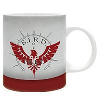 Service Petit Dejeuner Stray Dog - Mug - BIRD emblem - 320 ml - Ceramique - Avec boite