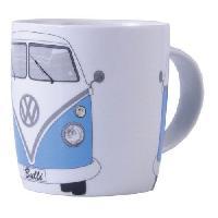 Service Petit Dejeuner Tasse 370ml Vw T1 Bus Bleu Brisa