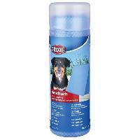 Serviette - Peignoir TRIXIE Serviette 66 D43 cm bleu pour chien