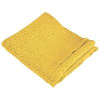 Serviette De Table Jetable - En Papier - Intisse Serviette de table SYMPHONIE 100 lin - 50 x 50 cm - Safran