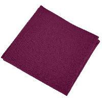 Serviette De Table Lot de 12 serviettes de table Yuco - Cassis