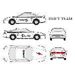Set complet Adhesifs - DRIFT - Full Color - Taille M - Car Deco - ADNAuto