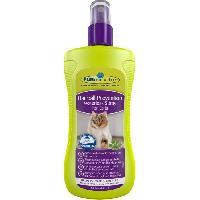 Shampoing - Apres-shampoing - Conditionneur - Masque Shampoing sans rincage contre boules de poils 250ml pour chat